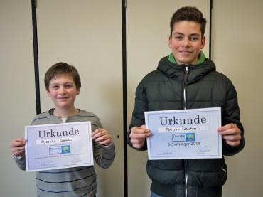 Geographiewettbewerb DIERCKE-Wissen 2014