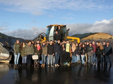 Exkursion zur Biogasanlage in Platten