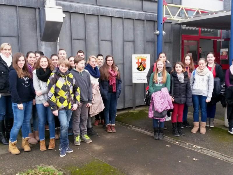 Ausflug zur PTA-Schule in Trier