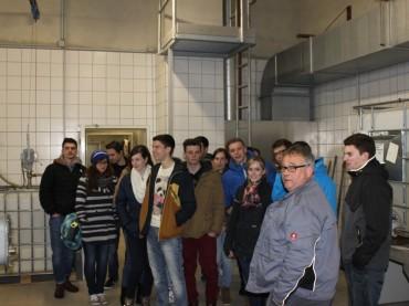Exkursion zur Kläranlage der Stadtwerke Wittlich