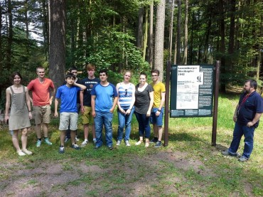 LK Geschichte besucht Konzentrationslager Hinzert