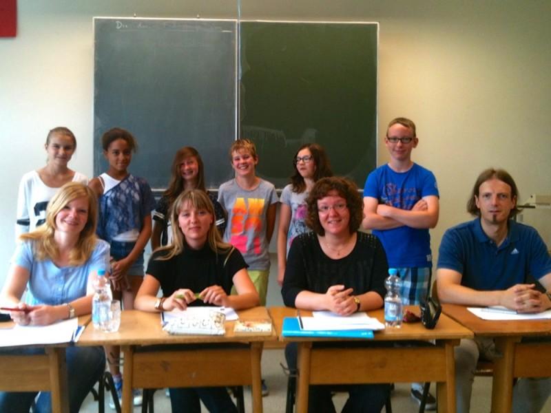 Vorlesewettbewerb im Fach Englisch an unserer Schule