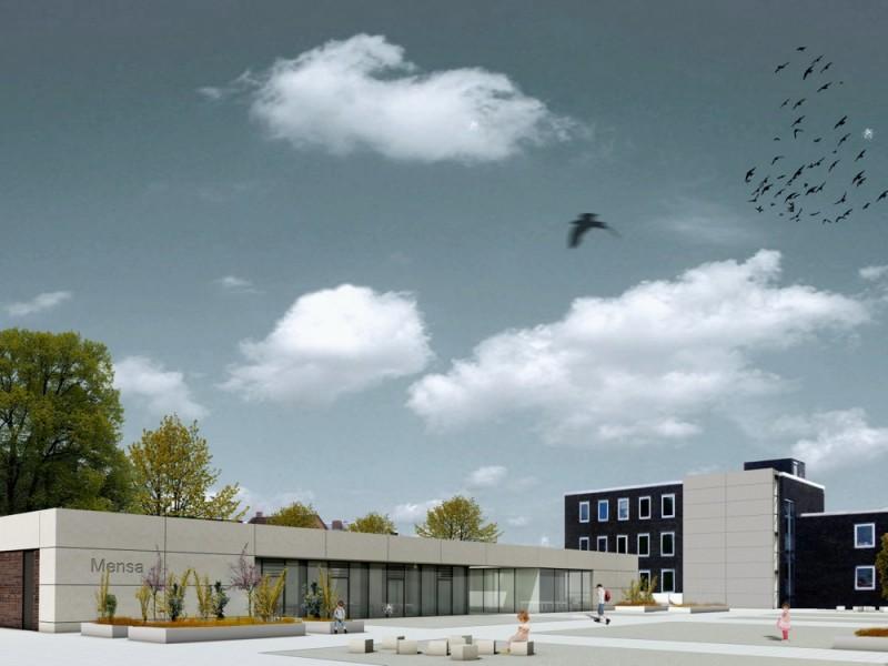 Bau einer neuen Bibliothek und einer neuen Mensa – ein Kurzüberblick