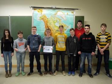 Geographiewettbewerb DIERCKE-Wissen 2015