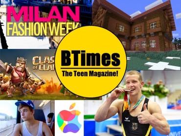 Teen Magazine der Klasse 8B – Englisch 2. Fremdsprache