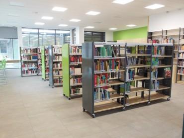 Mensa eröffnet, Bibliothek schon bald