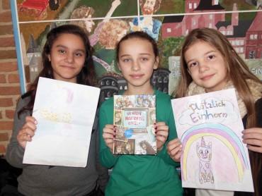 Gewinner des Titelwettbewerbs der Lesescouts