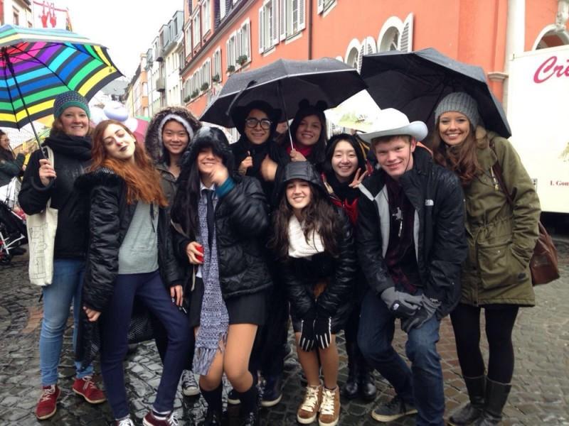 Austauschschüler aus der ganzen Welt zum Orientierungs- und Sprachkurs in Wittlich