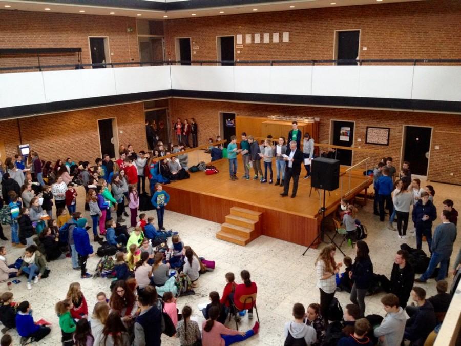 Schülerehrung an unserer Schule