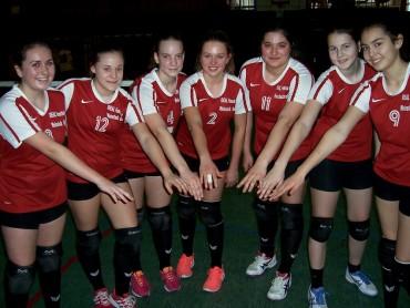 Volleyballerinnen Zweite beim Regionalentscheid