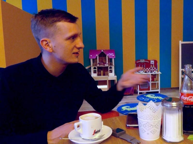 Interview mit Kraftklub-Frontmann Felix Brummer
