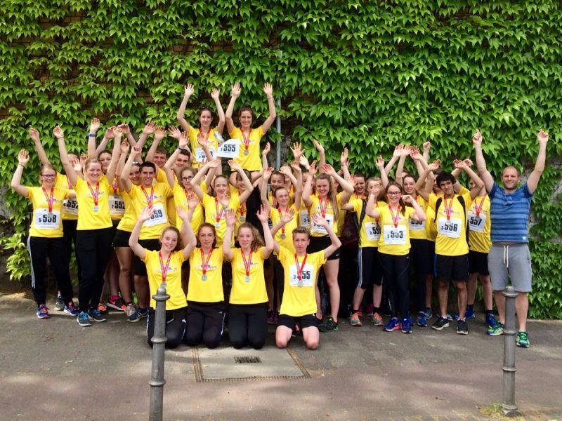 Halbmarathon – Schulstaffellauf 2016 in Mainz