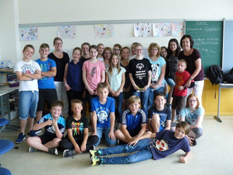 Besuch von der Maria Grünewald Schule