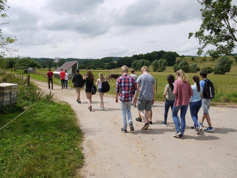 Exkursion zum Demeterhof Breit