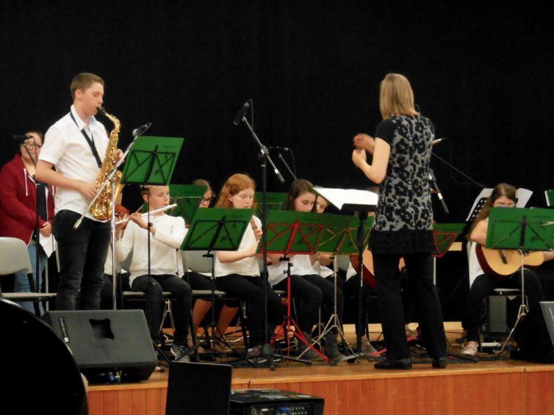 Musik, Bilder und Poesie – Sommerkonzert an unserer Schule