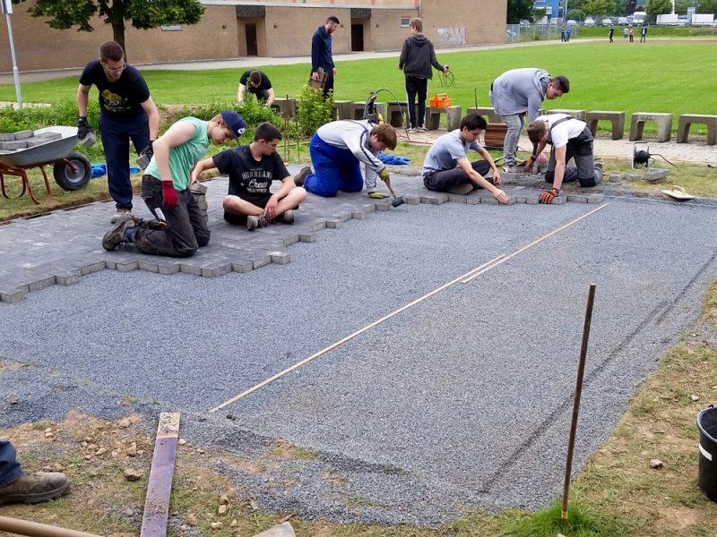 Projekt: Grillplatzbau