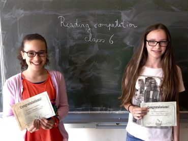 Reading competition 2016