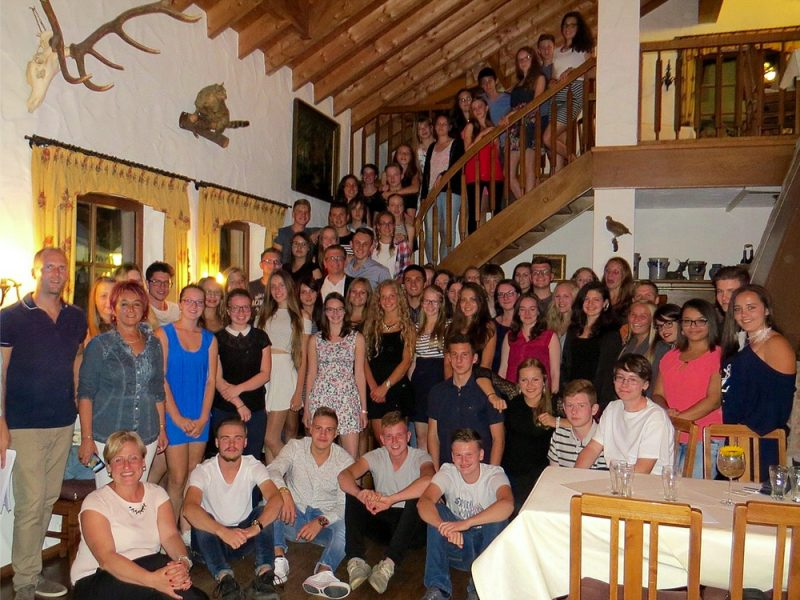 Besuch unserer Partnerschule aus Szarvas