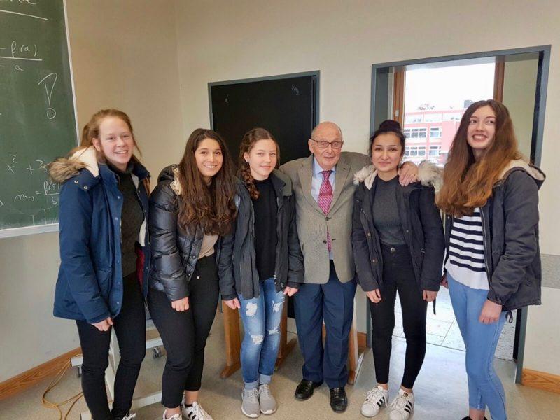 Besuch des Holocaust-Überlebenden Gerd Klestadt an unserer Schule
