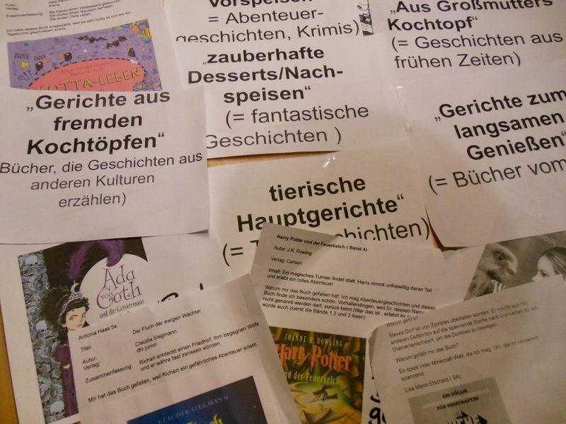 """Wettbewerb """"Literaturmenü"""": Gewinner stehen fest!"""