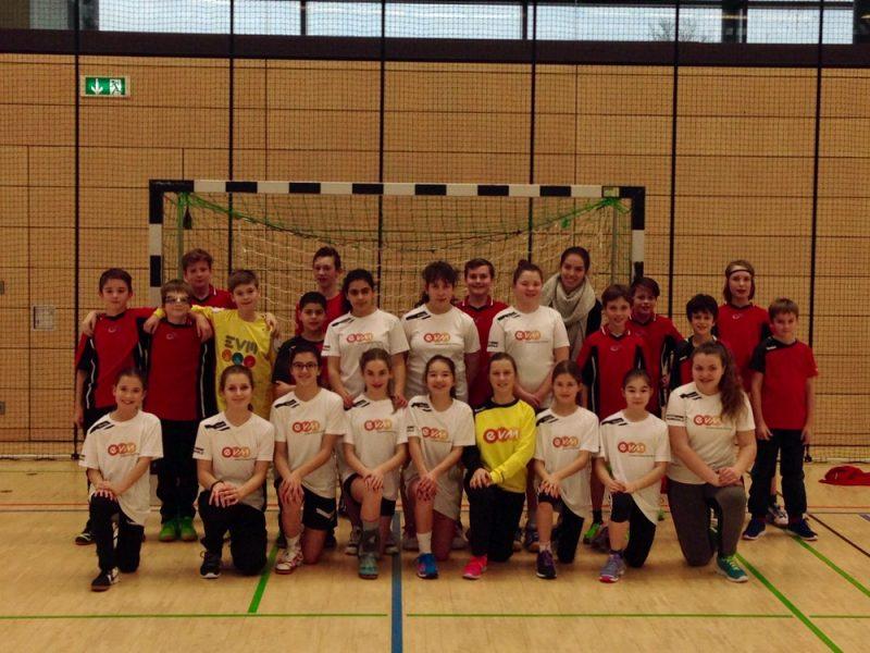 Sieger/innen der Vorrunde JtfO Handball