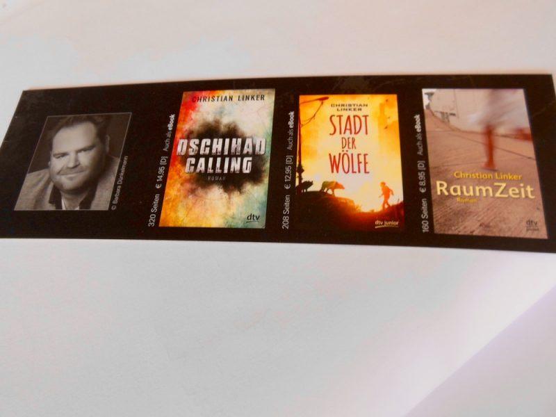 Jugendbuchautor Christian Linker zu Besuch