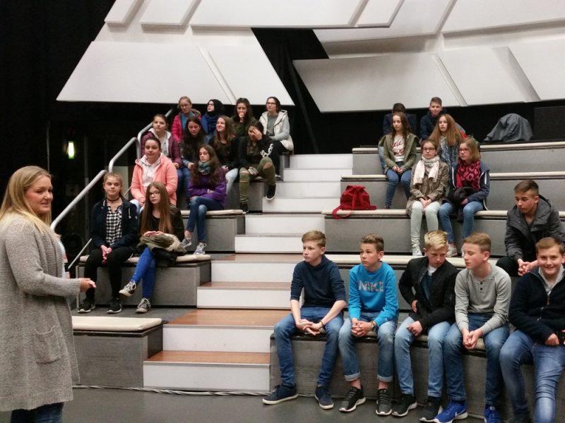 Die Klasse 7a zu Besuch beim ZDF
